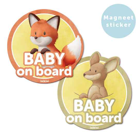 Baby on board magneetsticker