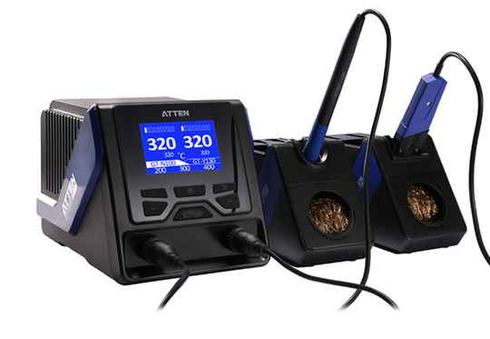 ATTEN GT-6200 Dual channel high- end Intelligent unleaded soldering station