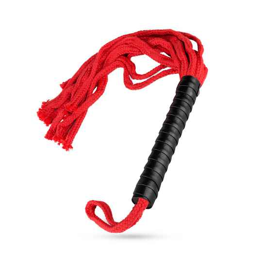 Rope Me In Flogger - Rood