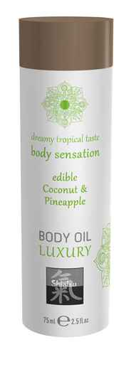 Luxe Eetbare Body Oil - Kokosnoot & Ananas