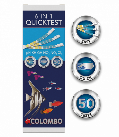 Colombo 6 in 1 quicktest 50 strips