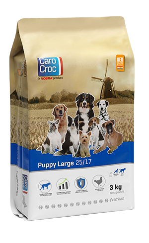 CaroCroc Puppy Large Breed 3 kilo