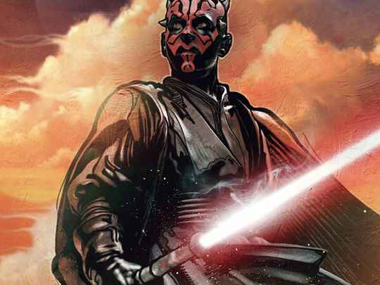 Fotobehang Star Wars Classic Darth Maul - 200 x 280 cm