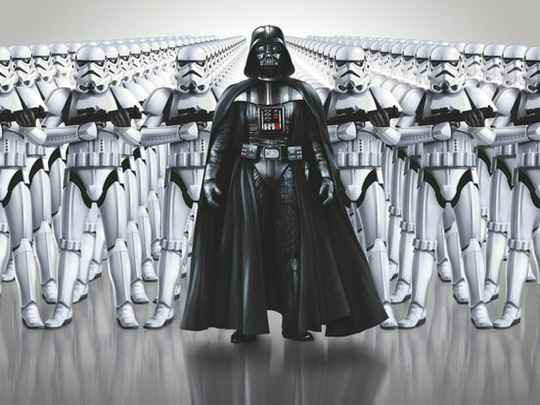 Fotobehang Star Wars Imperial Force - 368 x 254 cm