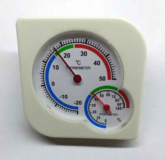 Thermometer inclusief Hygrometer