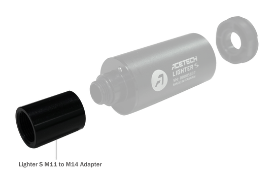 Acetech Lighter S Tracer Adapter for 11mm version