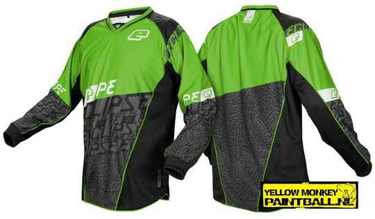 Planet eclipse jersey Lizzard groen xxl