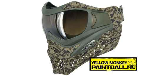VForce Grill Paintball Mask - SE Circuit Camo Earth