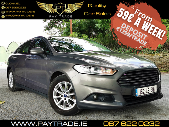 2015 FORD MONDEO STYLE BROWN 1.6 FINANCE WARRANTY