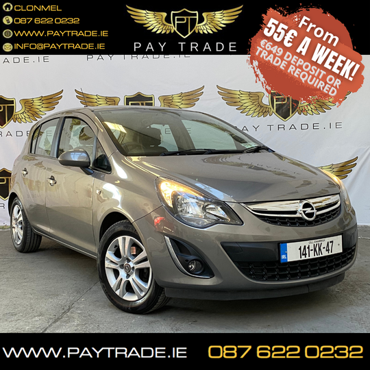 2014 OPEL CORSA ONE PREVIOUS OWNER PERFECT FIRST CAR