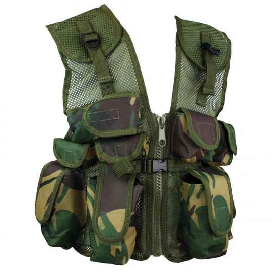 Junior Assault vest DPM
