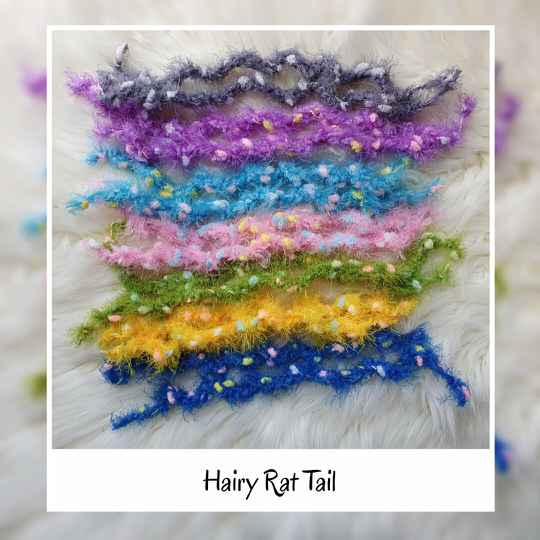 Hairy Rat Tail - 8 Colors