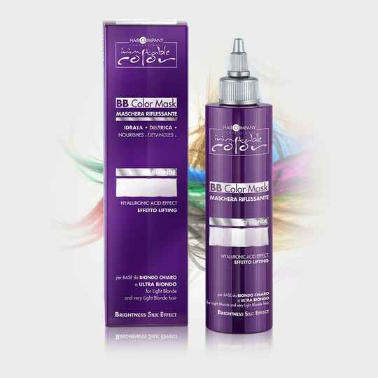 BB color mask ice blond