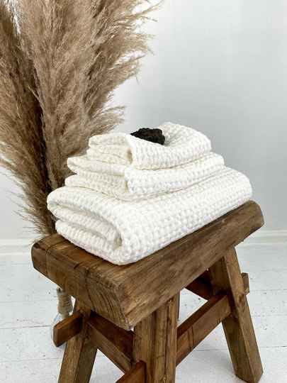 Bliss Linen - Towels White
