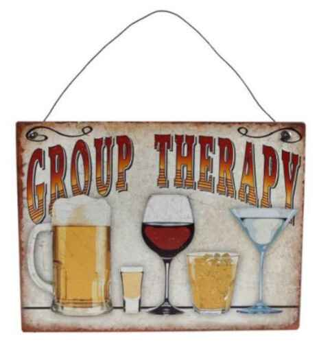 Wanddecoratie Group Therapy