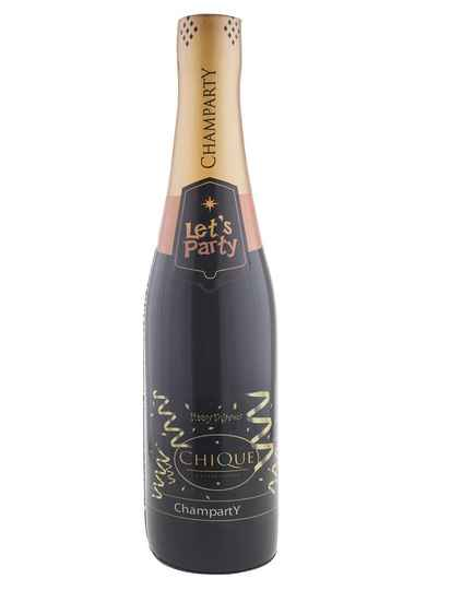 Opblaasbare Champagnefles Chique