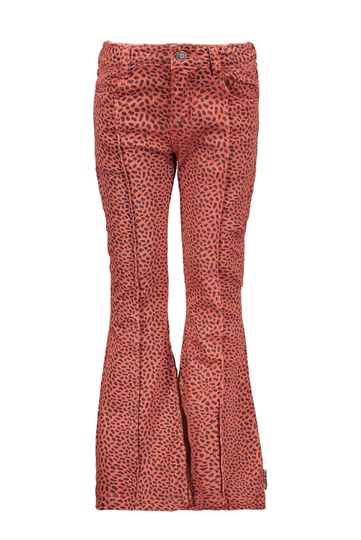 B.Nosy Mix Dots Flaired Pants