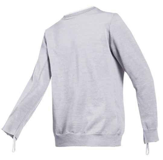 Torskin tee shirt double couche anti coupure gris 2XLarge