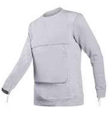 Tee shirt anti couteau Torskin gris 36 Joule / Small