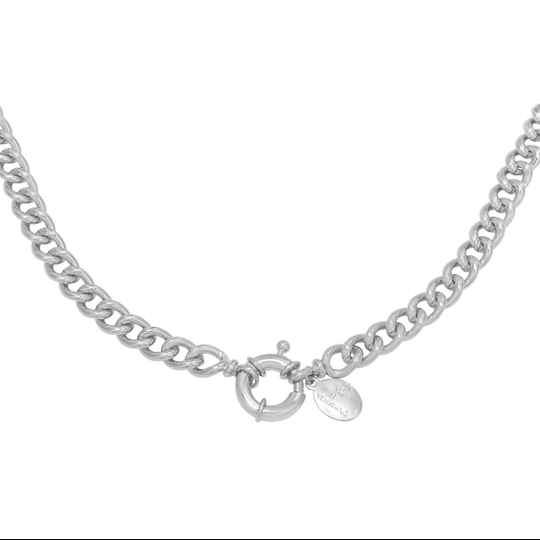ketting- chain zilver