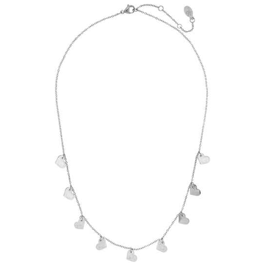 Ketting- lovely zilver