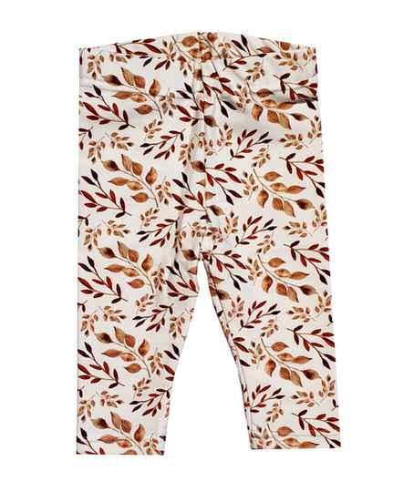Legging | Leaves cognac