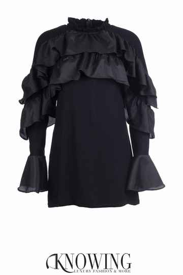 Knowing Blouse Met Ruches