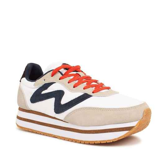 Woden Sneakers Plateau Bright White