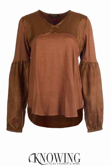 Knowing Blouse Met Pofmouw
