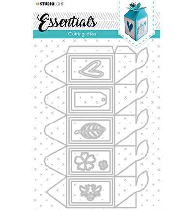 Studiolight, Snijmal, Essentials, Giftbox Hexagon - STENCILSL395