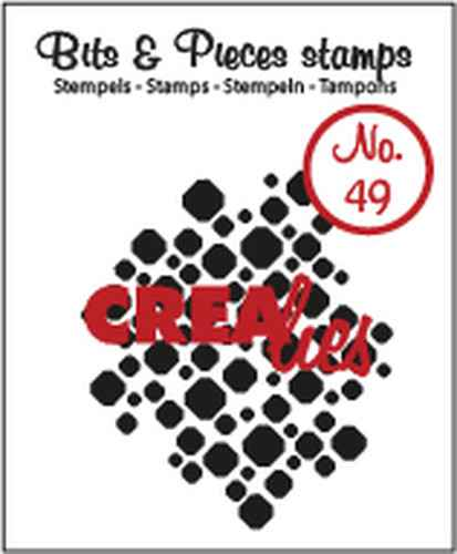 Crealies, Clear Stamp, Bits & Pieces, Nr. 49- CLBP49