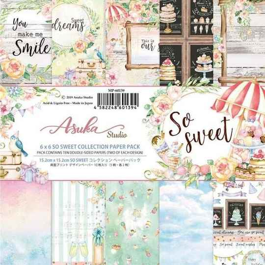 Memory Place, Paperpad, So Sweet , 6x6 inch - MP-60139