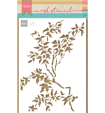 Marianne Design, Mask Stencil, Tiny's Leaves- PS8101