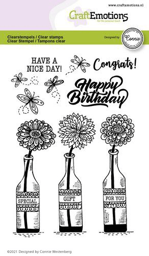 CraftEmotions, Clear Stamp, Special gift for you - 130501/2701