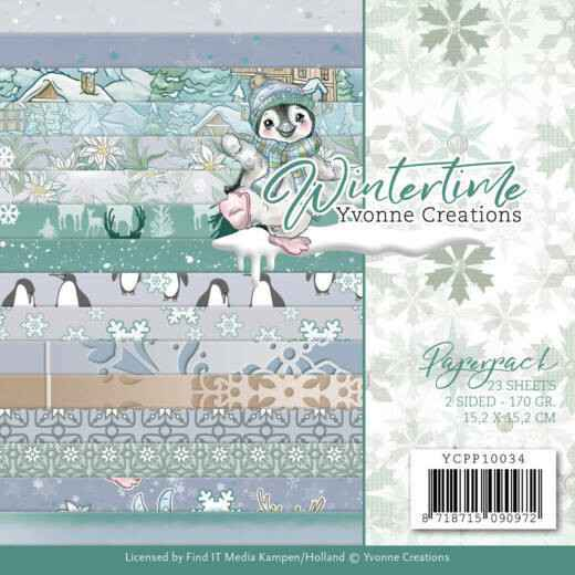 Yvonne Creations, Paperpad, Winter Time - YCPP10034
