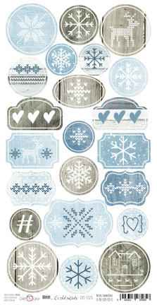 Craft O Clock, Brr. it's cold outside, Die Cuts