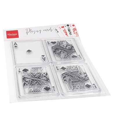 Marianne Design, Clear Stamp , Playing Cards - CS1055