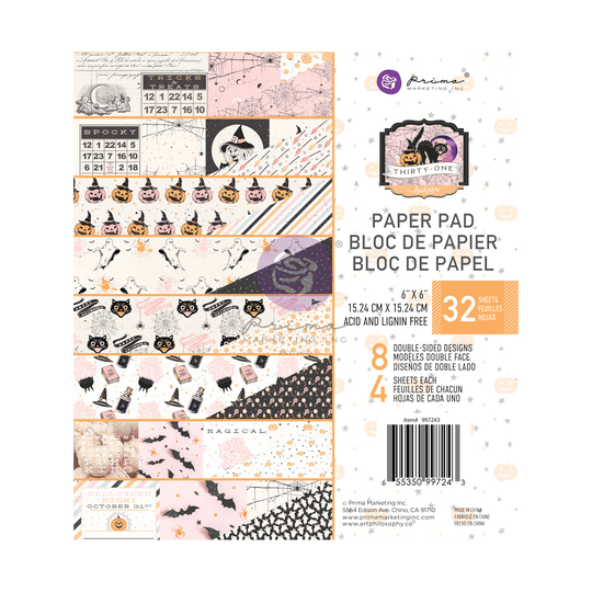Prima Marketing, Paperpad, Thirty-One, 6x6 inch - 997243
