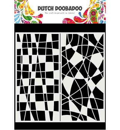 Dutch Doobadoo, Mask Art, Slimline Mosaic Line - 470.715.824