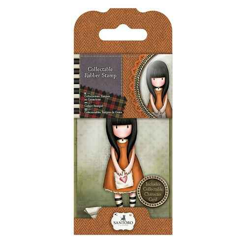 Gorjuss, Collectable Rubber Stamp, Nr. 9 , I gave you my heart - GOR907309