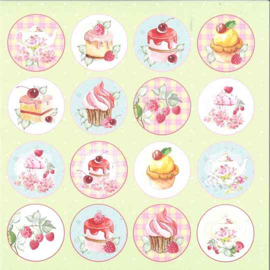 Craft & You, Scrapbookpapier, Sweet Dessert 07 - CP-SD07