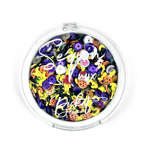 Picket Fence, Sequin Mix, Trick or Treaters - SQC-109