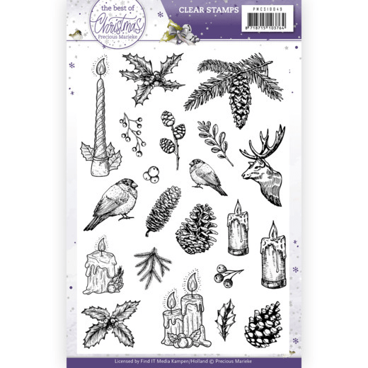 Precious Marieke, Clear Stamp , The Best Christmas Ever - PMCS10049