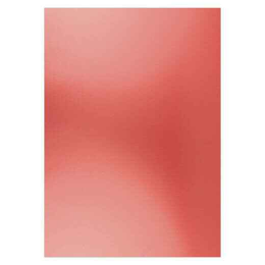 Card Deco, Metallic Cardstock, Christmas Red , A4 formaat - CDEMCP007