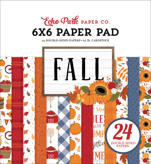 Echo Park, Paperpad, Fall, 6x6 inch - FAL251023