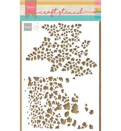 Marianne Design, Craft Stencil, Tiny's Butterfly Textures - PS8078