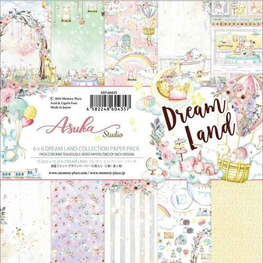Memory Place, Paperpad, Dreamland, 6x6 inch - MP-60435