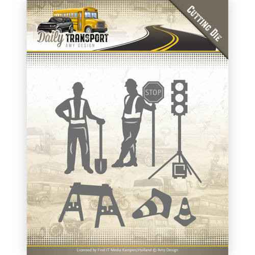 Amy Design, Snijmal, Daily Transport, Road Construction - ADD10130