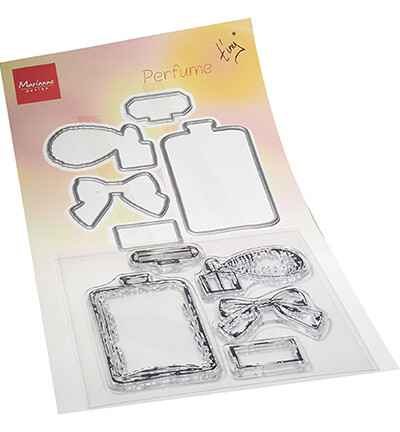 Marianne Design, Clear Stamp + Die , Tiny's Perfume - TC0882