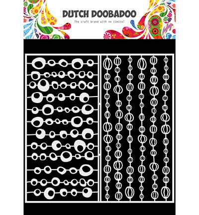 Dutch Doobadoo, Mask Art, Slimline Groovy Circles - 470.715.821